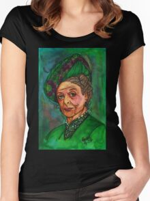 Dowager Countess Women's Fitted Scoop T-Shirt