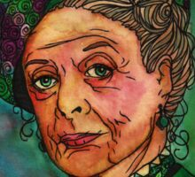 Dowager Countess Sticker