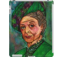 Dowager Countess iPad Case/Skin