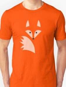 White Fox  Unisex T-Shirt