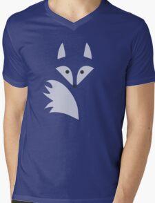 White Fox  Mens V-Neck T-Shirt