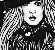 Blacklights : Stevie Sticker