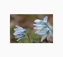 White and blue scilla flowers Unisex T-Shirt