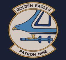VP-9 Golden Eagles Crest One Piece - Short Sleeve