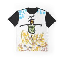 the black and green scarecrow Graphic T-Shirt