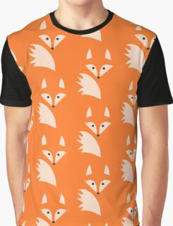 White Fox  Graphic T-Shirt