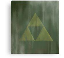 Gritty Triforce Canvas Print