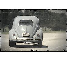 Aircooled VW - Oval Window Beetle Photographic Print