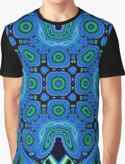Diving Into The Blue Abstract  Graphic T-Shirt