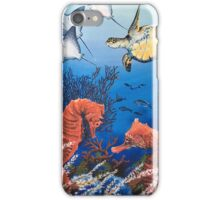 Seahorse and Turtle iPhone Case/Skin