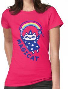 MAGICAT Womens Fitted T-Shirt