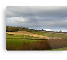 The Ploughed Fields Of Inch Island Metal Print
