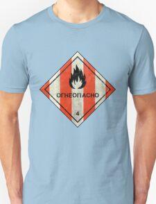 Launch flammable sign T-Shirt