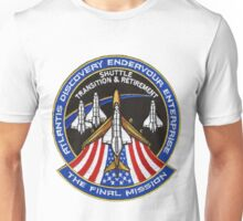 The Final Mission - Shuttle Transition and Retirement Patch Unisex T-Shirt