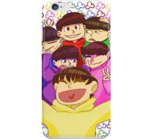 Matsuno Group Photo iPhone Case/Skin