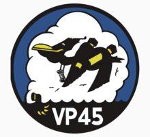 VP-45 Pelicans Logo Kids Tee