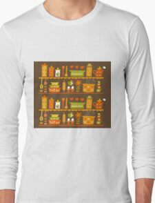 Lets Cook at Home Long Sleeve T-Shirt