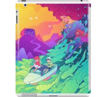 Ponyo on the cliff by the sea iPad Case/Skin