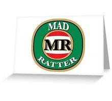 Madratter Victoria Bitter  - Original Design Greeting Card