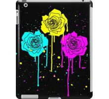 Roses in Process Colors Style iPad Case/Skin