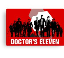 Doctor's 11 Canvas Print