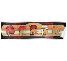 SSR Skateboards (DECK#4) Poster