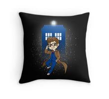 I'm cute and brilliant Throw Pillow