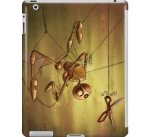 Staring Puppet at Scissors iPad Case/Skin