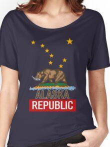 Alaska Republic Bear Women's Relaxed Fit T-Shirt
