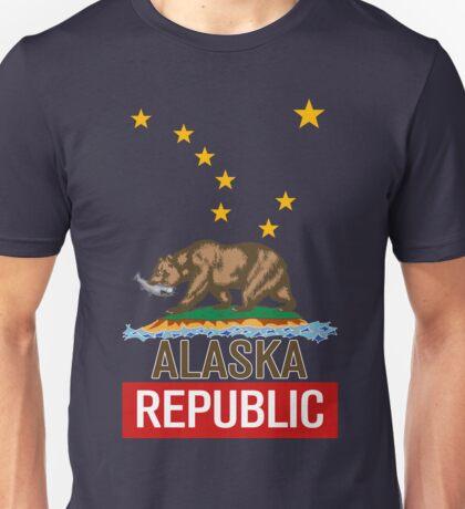 Alaska Republic Bear Unisex T-Shirt