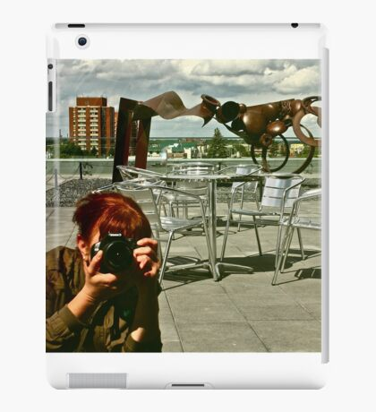 Rooftop Reflections iPad Case/Skin