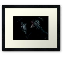 John Watson Portrait from The Abominable Bride Framed Print