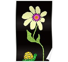 Friends the  Little Snail and Big Flower Poster