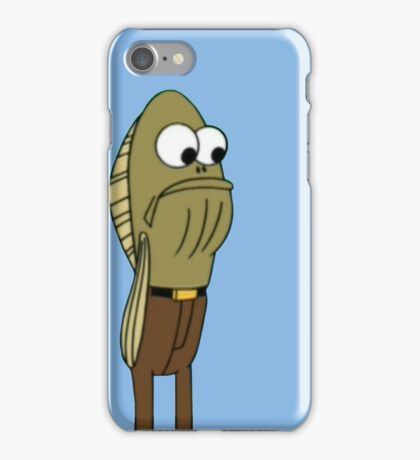 Fred The Fish - Spongebob iPhone Case/Skin