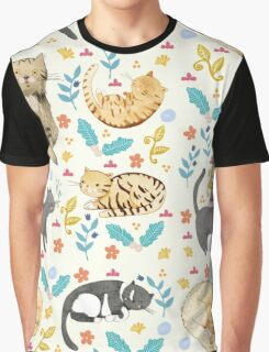 My Cats Graphic T-Shirt