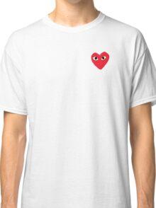 Comme Des Garcons Heart Classic T-Shirt