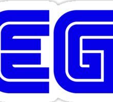 Blue Sega Logo Sticker