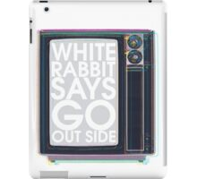 Go Out Side iPad Case/Skin