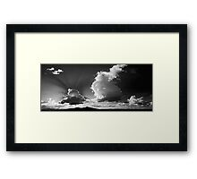 HCS Under The Sunshine In Monochrome© Framed Print