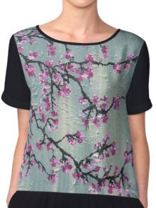 A Touch Of Spring Chiffon Top