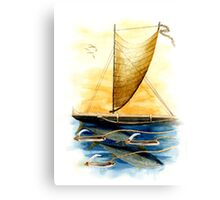 Ahi Lures Canvas Print
