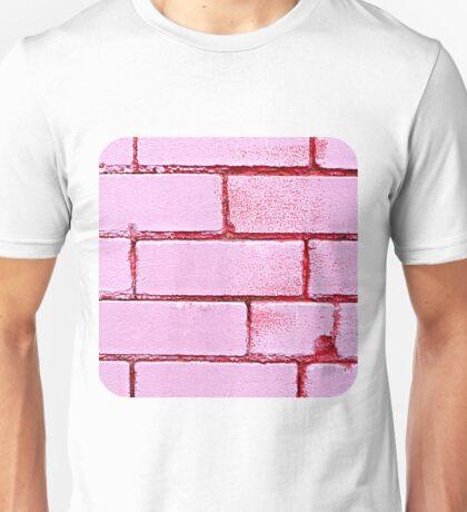 Pink Bricks  Unisex T-Shirt