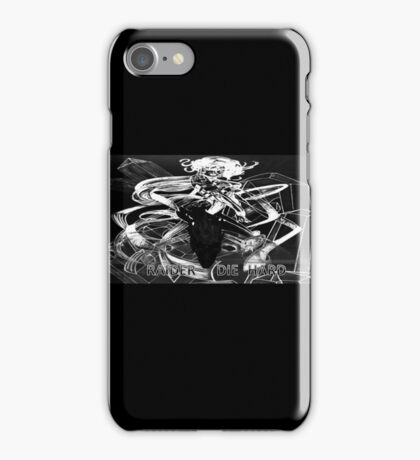 ©TAIMITIDESIGNS-*RAIDER DIE HARD* special edition. iPhone Case/Skin