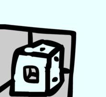 Cu-Cube Sticker