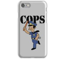 Springfield Cops iPhone Case/Skin