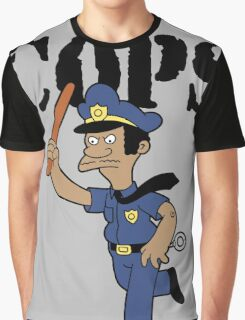 Springfield Cops Graphic T-Shirt