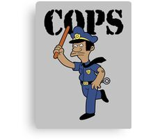 Springfield Cops Canvas Print