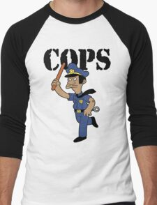 Springfield Cops Men's Baseball ¾ T-Shirt