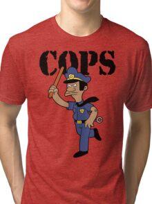 Springfield Cops Tri-blend T-Shirt