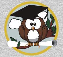 Graduation Owl One Piece - Long Sleeve